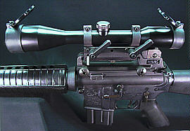 AR15 / M16 Scopes and Mounts